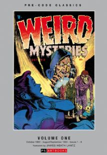 Pre Code Classics Collected Works - Weird Mysteries (Vol 1)